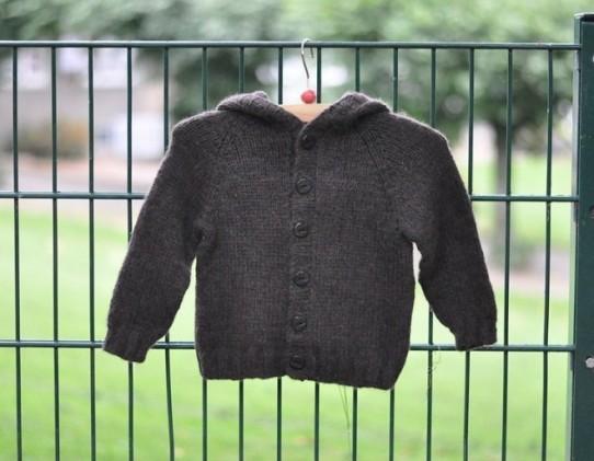 """Vaikiškas megztinis su kapišonu """"Meškutis"""""""